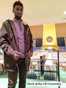 Girish UN assembly