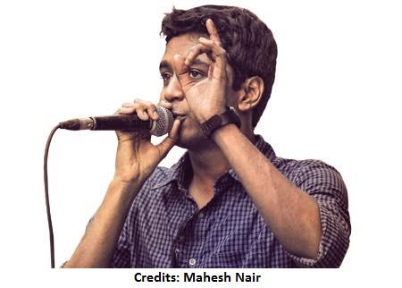 Vineeth on mic